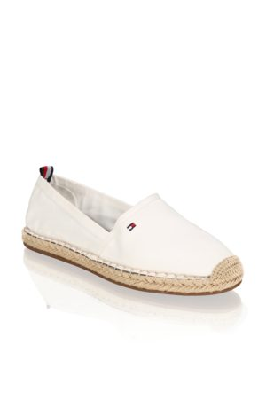 Tommy Hilfiger BASIC TOMMY FLAT ESPADRILLE weiss