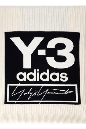 Y-3 Oversize scarf with contrasting maxi logo , Herren, Größe: One size