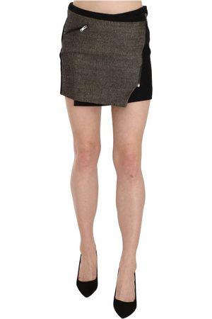 Costume National Wrap Around Mini Skirt , Damen, Größe: 44 IT