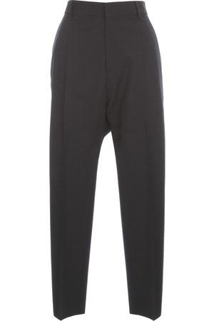 Dsquared2 High Waisted Tropical Wool Strech Pants , Damen, Größe: 42 IT