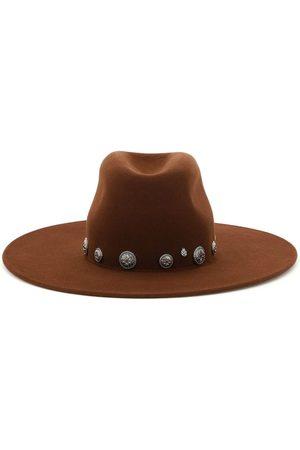 Le Mont St Michel Eliza Felt Hat With Studs , Damen, Größe: M
