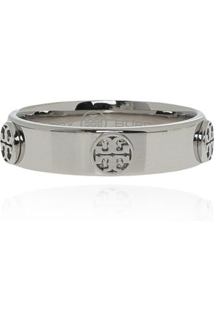 Tory Burch Logo-embossed ring , Damen, Größe: 8
