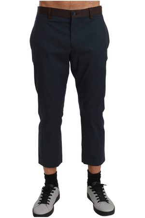Dolce & Gabbana Cropped Trousers , Herren, Größe: 52 IT