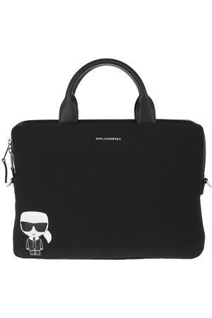 Karl Lagerfeld Laptoptasche Karl Ikonik Laptop Sleeve Bag With Strap Black
