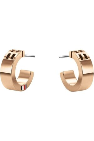 Tommy Hilfiger Damen Uhren - Ohrringe Casual Core Earring Roségold roségold