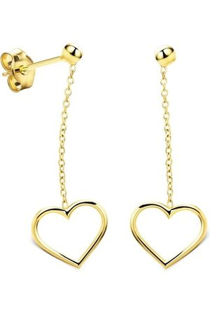 DIAMADA Ohrringe 9KT Earring Yellow Gold gelbgold