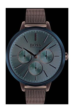 HUGO BOSS Uhr Watch Symphony Silver roségold
