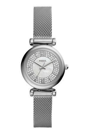 Fossil Uhr Carlie Mini Watch Silver silber