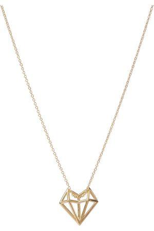 Aliita Exklusiv bei Mytheresa – Halskette Corazon aus 9kt Gelbgold