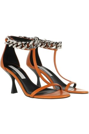 Stella McCartney Sandalen Falabella Sandal Leather Burnt Orange orange