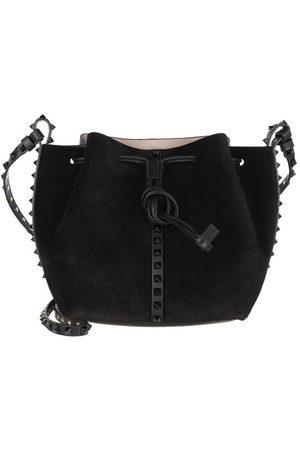 VALENTINO Damen Umhängetaschen - Umhängetasche Crossbody Bag Leather Black
