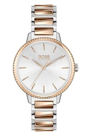 HUGO BOSS Uhr Signature Watch Bicolor bunt
