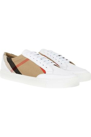 Burberry Sneakers House Check Sneakers White