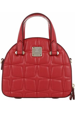 MCM Umhängetasche Essential Quilted Diamond Tote Mini Red