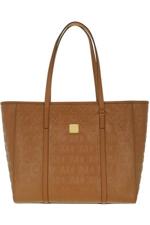 MCM Shopper Toni Mn Lthr Shopper Medium Cognac cognac