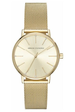 Armani Damen Uhren - Uhr AX5536 Ladies Watch Gold gold