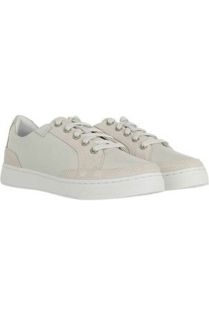 Timberland Damen Schnürschuhe - Sneakers Atlanta Green Low Leather Lace Up Sneakers Blanc de blanc weiß