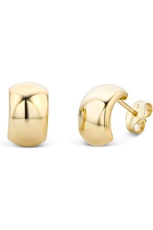 DIAMADA Ohrringe Earring 14KT Yellow Gold gelbgold