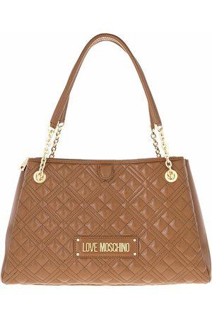 Love Moschino Damen Shopper - Tote Bag Cuoio
