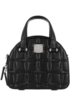 MCM Umhängetasche Essential Quilted Diamond Tote Mini Black