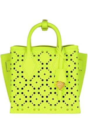 MCM Damen Shopper - Tote Neo Milla Tote Mini Golden Mango gelb