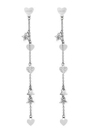 Liu Jo Damen Uhren - Ohrringe LJ1409 Earrings Silver silber