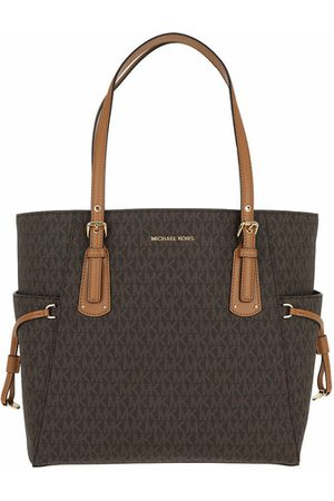 Michael Kors Tote EW Signature Tote Brown