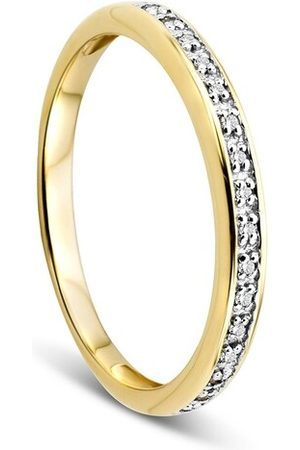 DIAMADA Ring 14KT Diamond Ring Yellow Gold gelbgold
