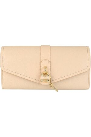 Chloé Portemonnaie Long Wallet With Flap Softy Pink rosa