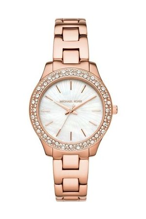 Michael Kors Uhr Liliane Three-Hand Stainless Steel Watch Roségold roségold