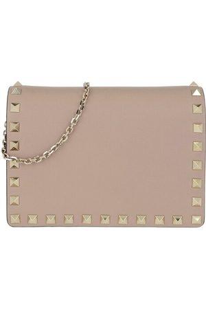 Valentino Umhängetasche Rockstud Chain Crossbody Bag Poudre rosa