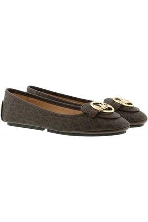Michael Kors Ballerinas Lillie Moccasin Brown