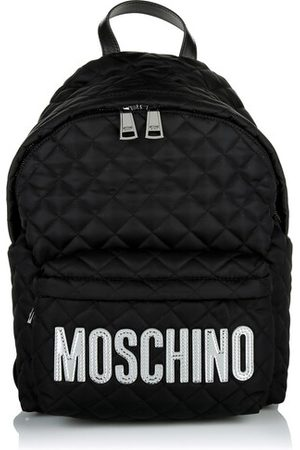 Moschino Rucksack Medium Logo Detail Backpack Black