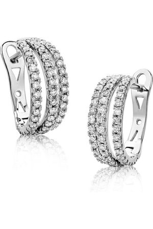 DIAMADA Ohrringe 0.6ct Diamond Earring 18KT White Gold weißgold