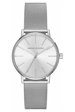 Armani Uhr AX5535 Ladies Watch Silver