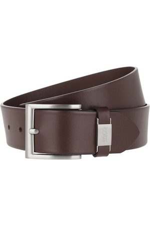 HUGO BOSS Gürtel Connio Belt Dark Brown