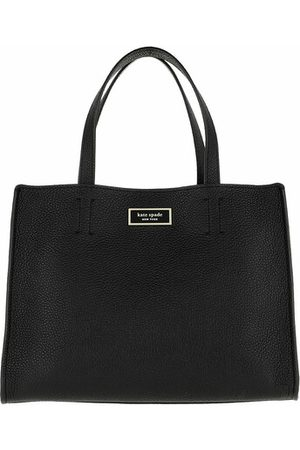 Kate Spade Tote Sam Medium Satchel Black