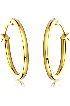 DIAMADA Ohrringe Creole Earring 14KT Yellow gelbgold
