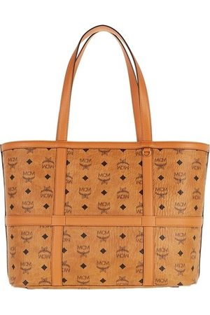 MCM Shopper Delmy Visetos Shopper Medium Cognac cognac