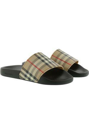 Burberry Schuhe Vintage Check Slides Beige beige