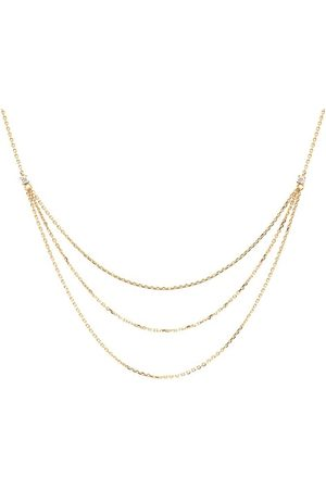 PDPAOLA Damen Halsketten - Halskette Nia Necklace Yellow Gold gelbgold