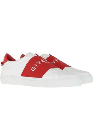 Givenchy Damen Sneakers - Sneakers Paris Webbing Sneaker Leather Red/White weiß
