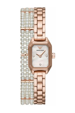 Emporio Armani Uhr Gioia Watch Dress Rose Gold roségold