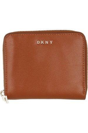 DKNY Portemonnaie Bryant Small Zip Around Caramel