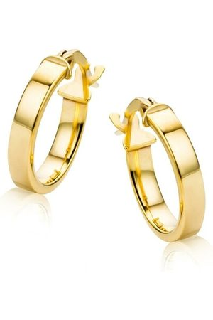 DIAMADA Ohrringe 9KT Earrings Yellow Gold gelbgold