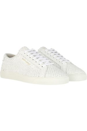Saint Laurent Sneakers Andy Sneakers Nubuk Leather White weiß