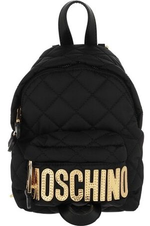 Moschino Rucksack Quilted Backpack Fantasia Nero
