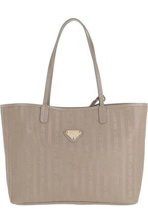 Maison Mollerus Damen Shopper - Tote Bern Shopping Bag Taupe/Gold beige
