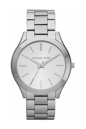 Michael Kors Damen Uhren - Uhr Slim Runway Watch Silver