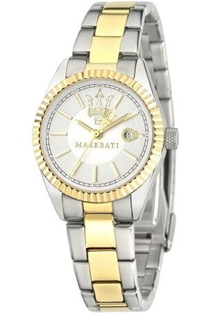 Maserati Uhr Competizione Watch Stainless Steel Silver silber